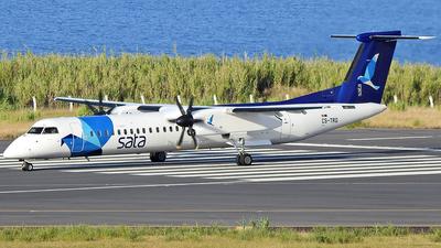 A picture of CSTRG - De Havilland Canada Dash 8400 - SATA Air Acores - © Antonio Batista