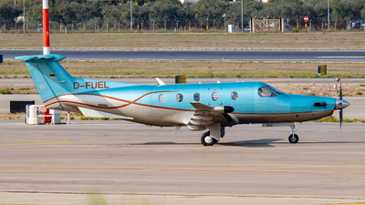 D-FUEL - Pilatus PC-12/47E - Private