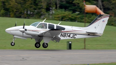 N814JC - Beechcraft 95-C55 Baron - Private