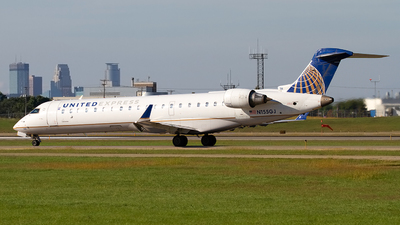 N155GJ - Bombardier CRJ-702 - United Express (GoJet Airlines)