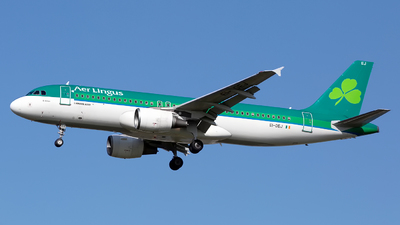A picture of EIDEJ - Airbus A320214 - Aer Lingus - © Chris Pitchacaren