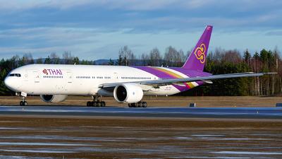 A picture of HSTKV - Boeing 7773D7(ER) - Thai Airways - © Laszlo Fekete