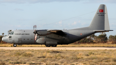 61-2634 - Lockheed C-130B Hercules - Turkey - Air Force