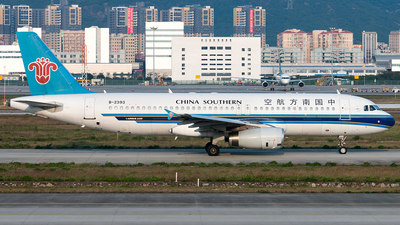 B-2393 - Airbus A320-232 - China Southern Airlines