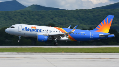 A picture of N250NV - Airbus A320214 - Allegiant Air - © Jake Oesterreich