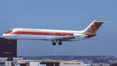 N3509T - McDonnell Douglas DC-9-32 - Continental Airlines