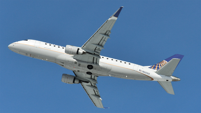 A picture of N601UX - Embraer E175LL - United Airlines - © Brady Noble
