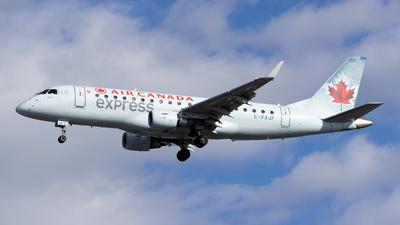 A picture of CFXJF - Embraer E175SU - Air Canada - © Cary Liao