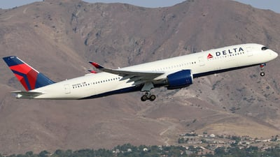 A picture of N503DN - Airbus A350941 - Delta Air Lines - © Nate Morin