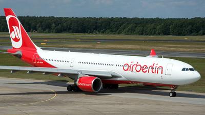 D-ABXB - Airbus A330-223 - Air Berlin