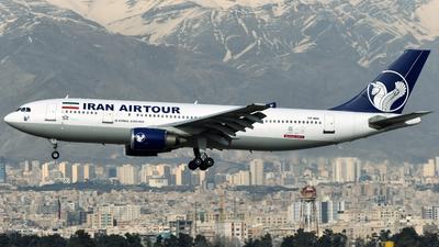EP-MNI - Airbus A300B4-603 - Iran Air Tours