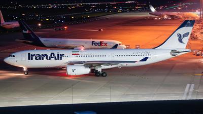 EP-IJA - Airbus A330-243 - Iran Air