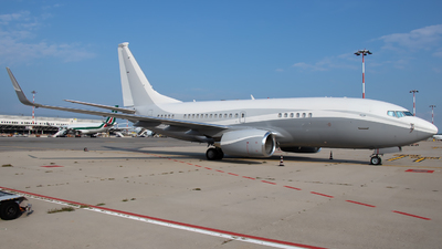 N834BZ - Boeing 737-73Q(BBJ) - Private