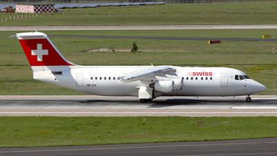 HB-IXV - British Aerospace Avro RJ100 - Swiss