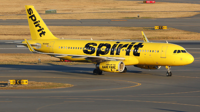 A picture of N646NK - Airbus A320232 - Spirit Airlines - © Thomas Henry Grieser