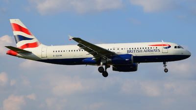 G-EUYM - Airbus A320-232 - British Airways