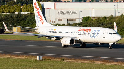 A picture of ECIDA - Boeing 73786Q - Air Europa - © Yago Ortiz