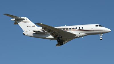 OY-JJK - Hawker Beechcraft 4000 - Private