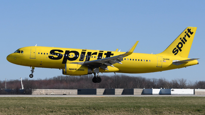 A picture of N618NK - Airbus A320232 - Spirit Airlines - © DJ Reed - OPShots Photo Team