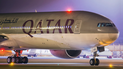 A7-BAK - Boeing 777-3DZER - Qatar Airways