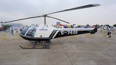 B-7418 - Enstrom 280FX Shark - Chongqing General Aviation