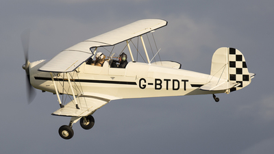 G-BTDT - CASA 1.131E Jungmann - Private