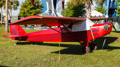 NC13177 - Taylor E-2 Cub - Private