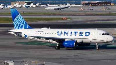 A picture of N848UA - Airbus A319131 - United Airlines - © Chris Phan