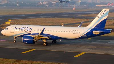 A picture of VTIZE - Airbus A320271N - IndiGo - © Aneesh Bapaye