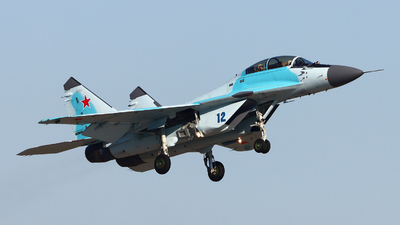 12 - Mikoyan-Gurevich MiG-35S Fulcrum F - Russia - Air Force