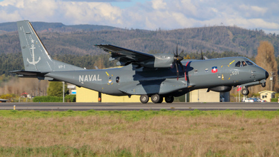 501 - CASA C-295MP Persuader - Chile - Navy