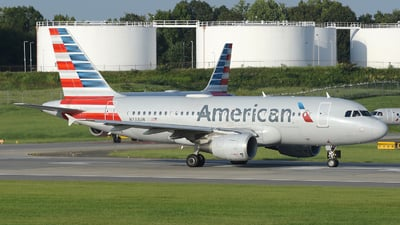 A picture of N733UW - Airbus A319112 - American Airlines - © DJ Reed - OPShots Photo Team