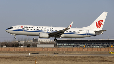 B-5442 - Boeing 737-89L - Air China
