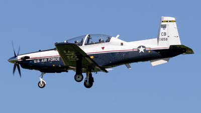 02-3658 - Raytheon T-6A Texan II - United States - US Air Force (USAF)