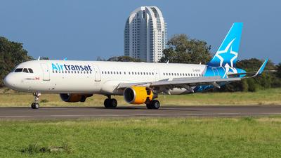C-GTCY - Airbus A321-211 - Air Transat
