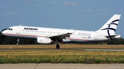 A picture of SXDVI - Airbus A320232 - Aegean Airlines - © Marian Chovancak