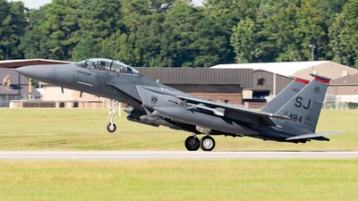 89-0484 - McDonnell Douglas F-15E Strike Eagle - United States - US Air Force (USAF)