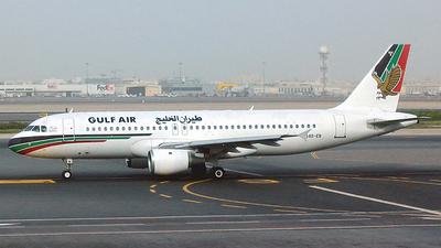 A4O-EB - Airbus A320-212 - Gulf Air