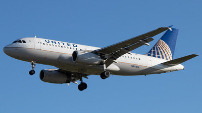 N891UA - Airbus A319-132 - United Airlines