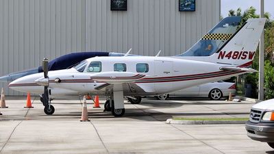 A picture of N481SW - Piper PA31T1 Cheyenne I - [31T8104016] - © Joshua Ruppert