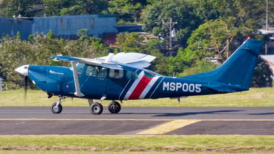 MSP005 - Cessna TU206G Turbo Stationair - Costa Rica - Ministry of Public Security