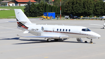 CS-LTP - Cessna Citation Latitude - NetJets Europe