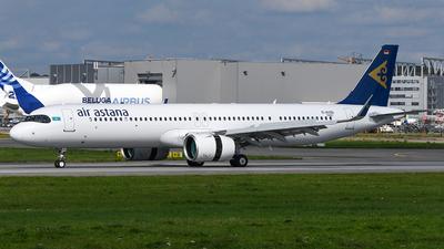 D-AVZQ - Airbus A321-271NX - Air Astana