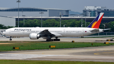 A picture of RPC7775 - Boeing 7773F6(ER) - Philippine Airlines - © Alva