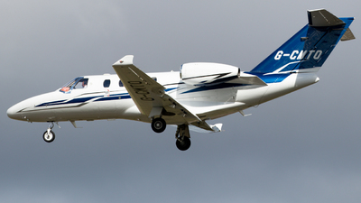 G-CMTO - Cessna 525 CitationJet M2 - Private