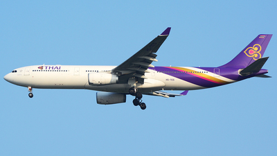 HS-TES - Airbus A330-343 - Thai Airways International