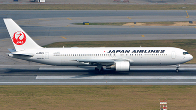 JA602J - Boeing 767-346(ER) - Japan Airlines (JAL)
