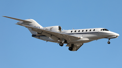 N715TX - Cessna 750 Citation X - Private