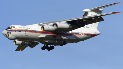 RA-76845 - Ilyushin IL-76TD - Russia - Ministry for Emergency Situations (MChS)