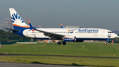A picture of TCSOF - Boeing 7378HC - SunExpress - © Kyan Rossignol